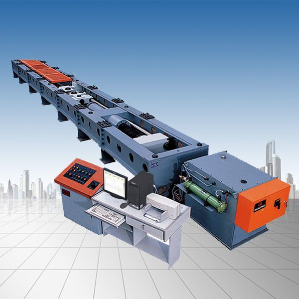 3000KN/300吨微机屏显卧式拉力试验机